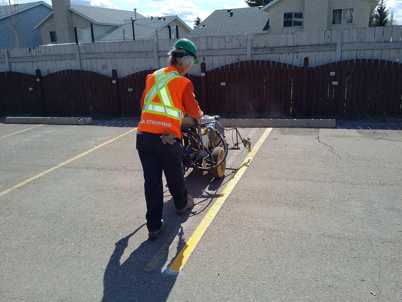 Parking Lots Line Painting 02