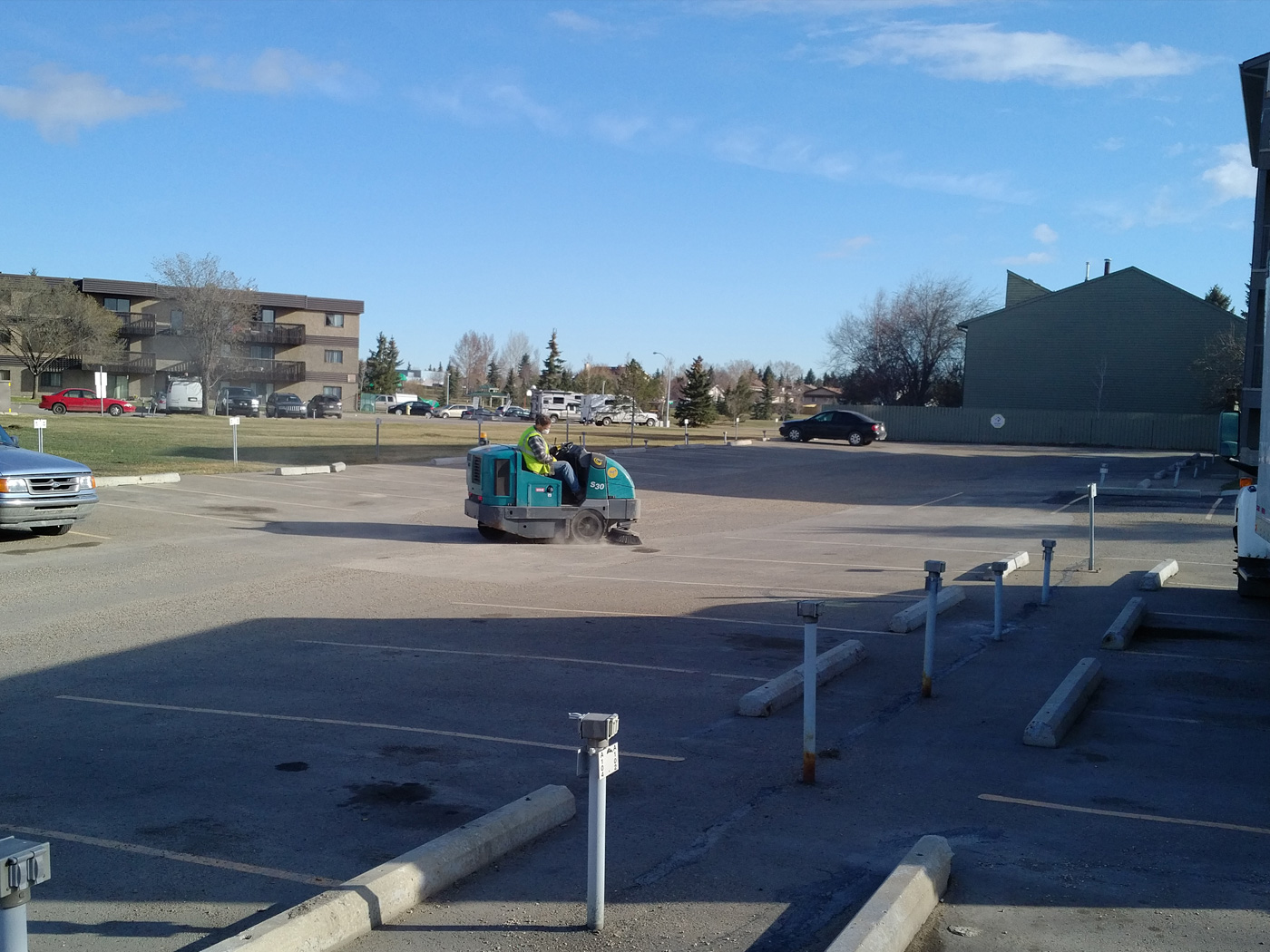 AAA Striping Parking Lot Sweeping 06